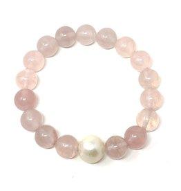 LT Rose Quartz & FWP Bracelet