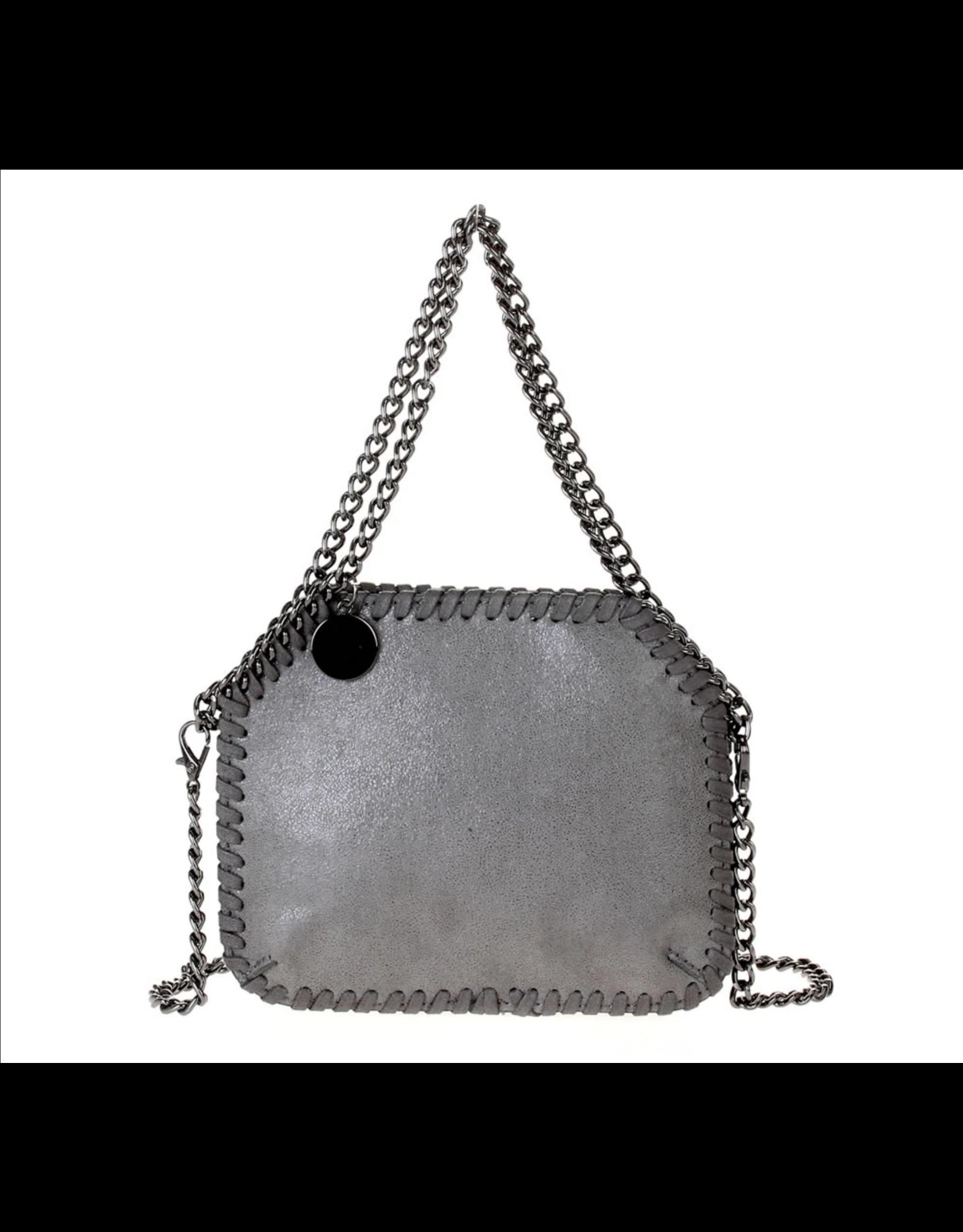 Mini Grey Stella Bag
