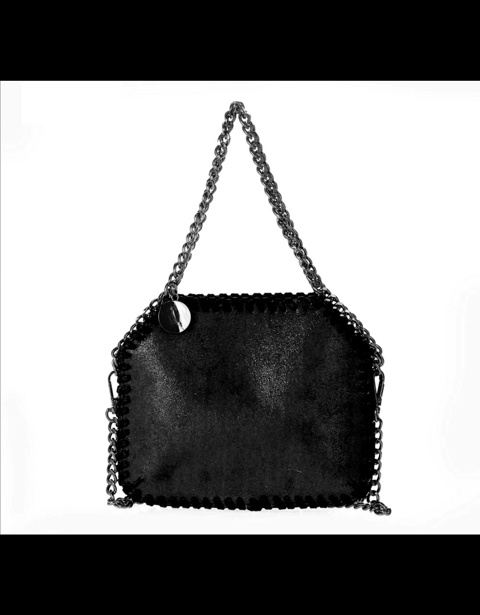 Mini Black Stella Bag