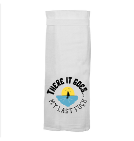 Twisted Wares There It Goes Hand Towel
