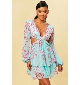 Follow Me Open Back Dress