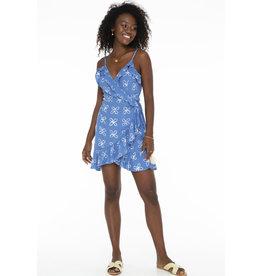 Skemo Shibori Wrap Dress