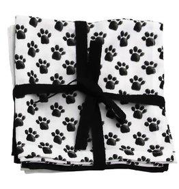 Paw Print Dish Cloth Set