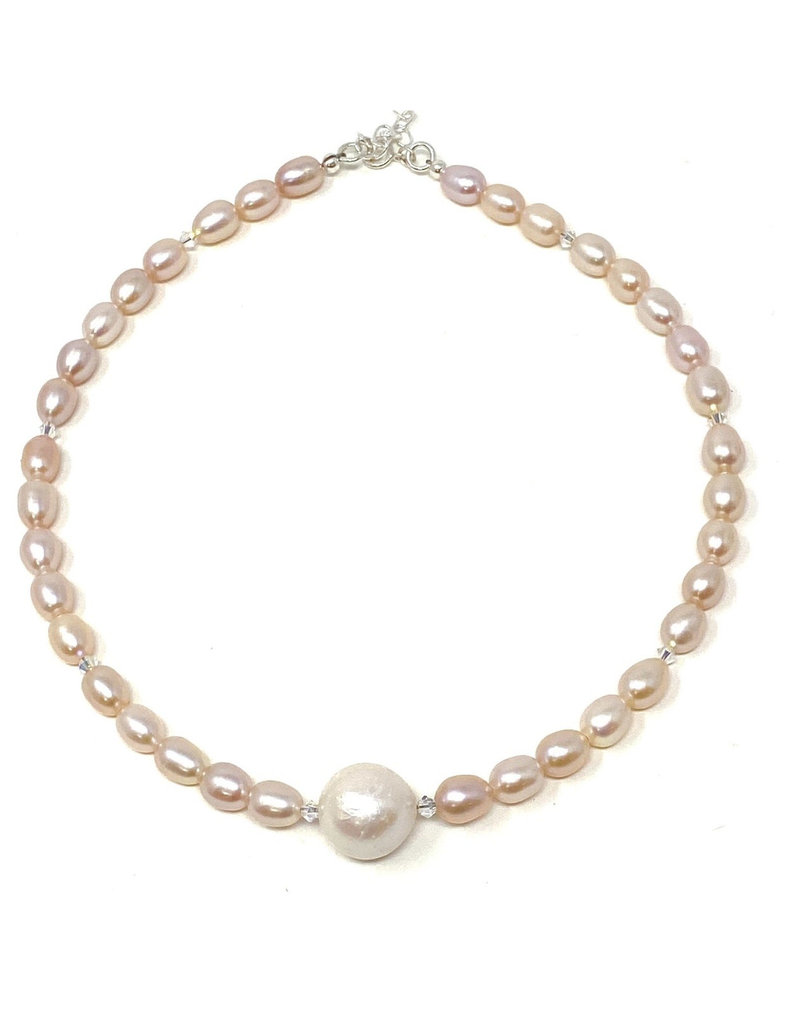LP Baroque & Blush Pearl Necklace