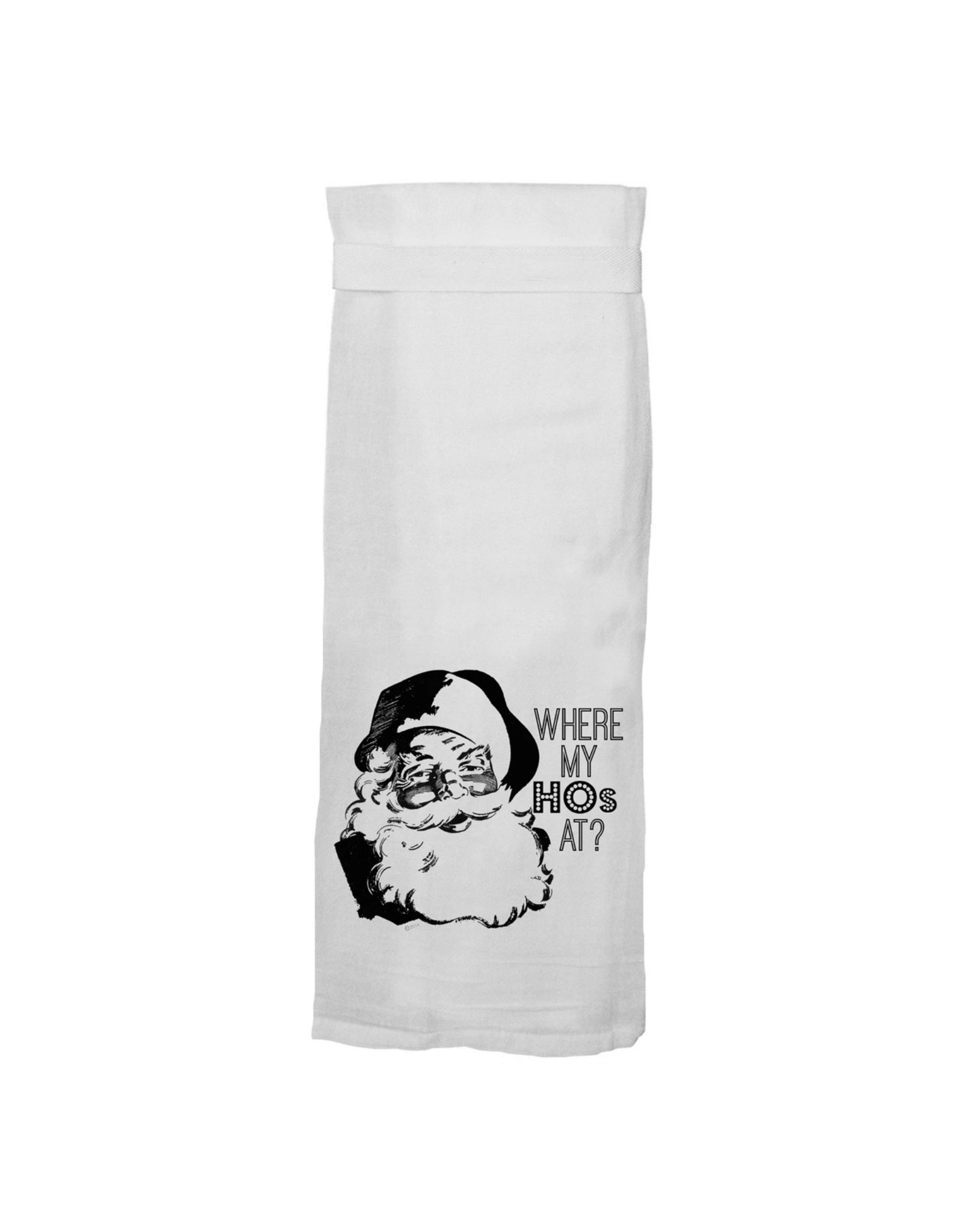 Twisted Wares Where My HOs Hand Towel