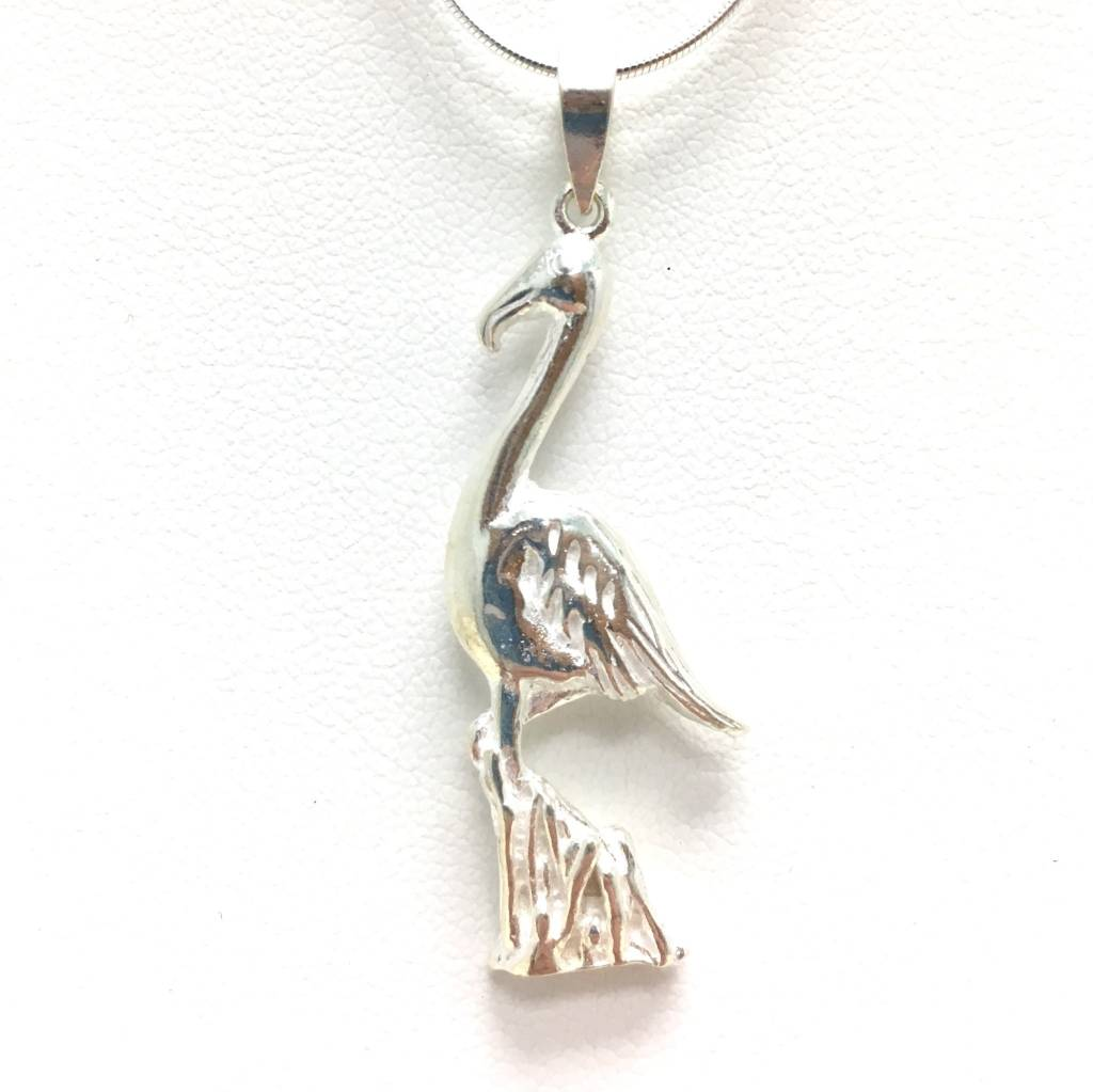 Sterling Silver Blue Heron