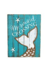 Mermaid Crossing Sign