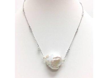 Pearl & Stone Pendants