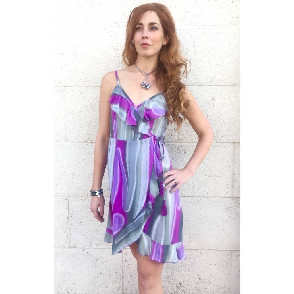 Tootsie Wrap Dress Mirage Pitaya