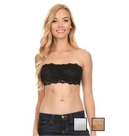 Black Lace Bandeau M/L
