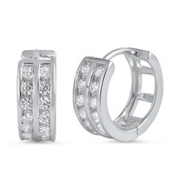 Sterling Huggie Earrings SI