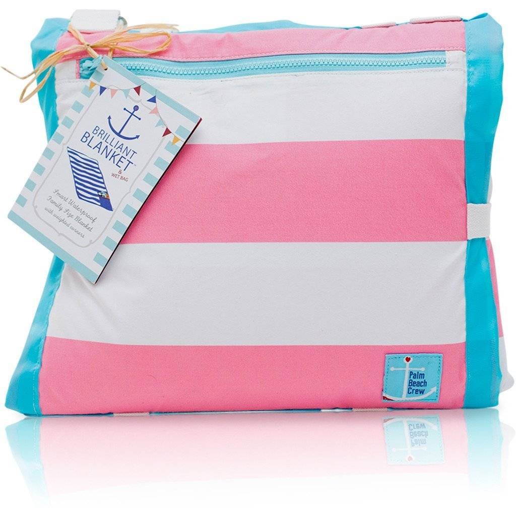 Beach Blanket Pink Stripe
