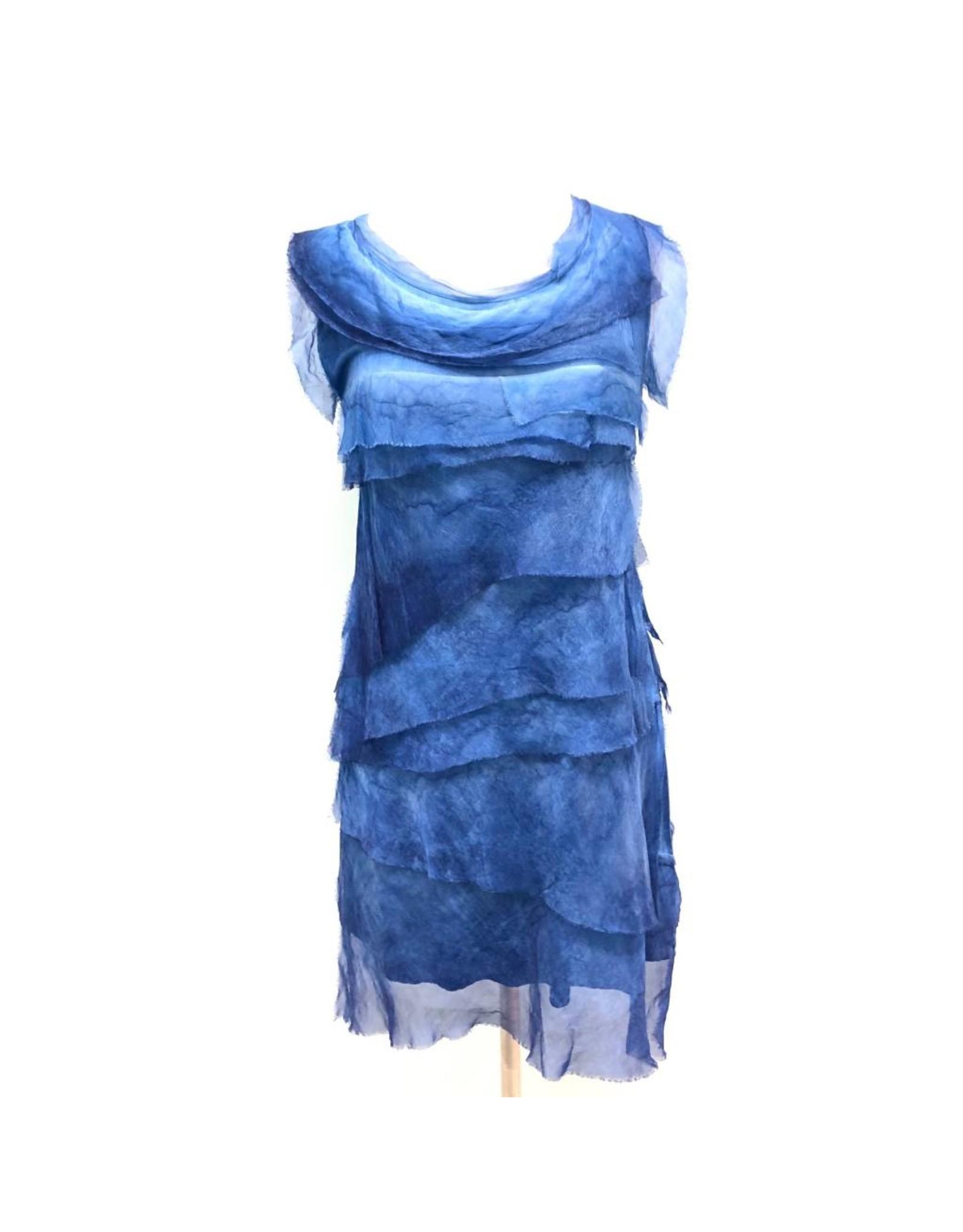 Royal Blue Flutter Dress