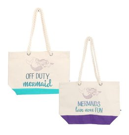Glitter Mermaid Tote