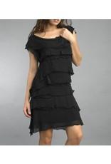 Black Flutter Dress