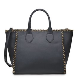 Black Lyra Handbag