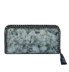 Silver Chain Detail Wallet