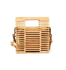 Small Bamboo Satchel