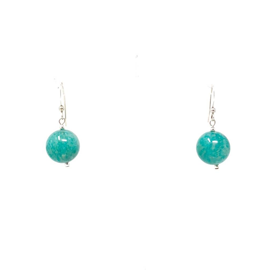 A+ Amazonite Earrings