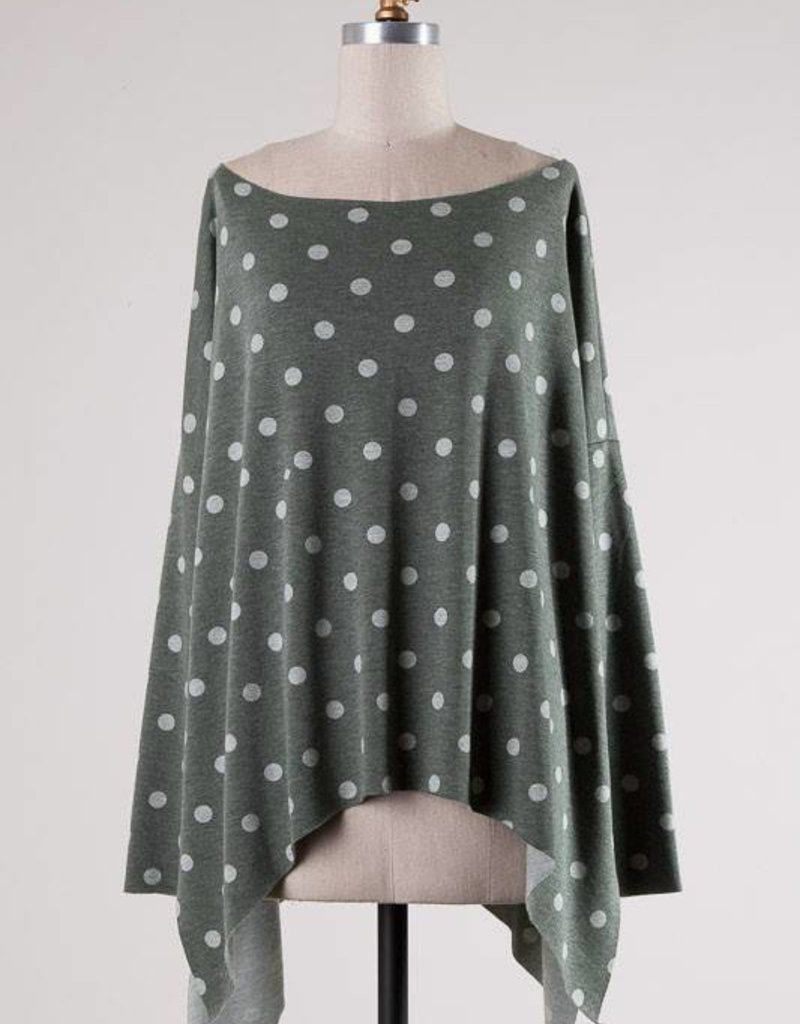 12549 All About Comfy Polka Dot Olive