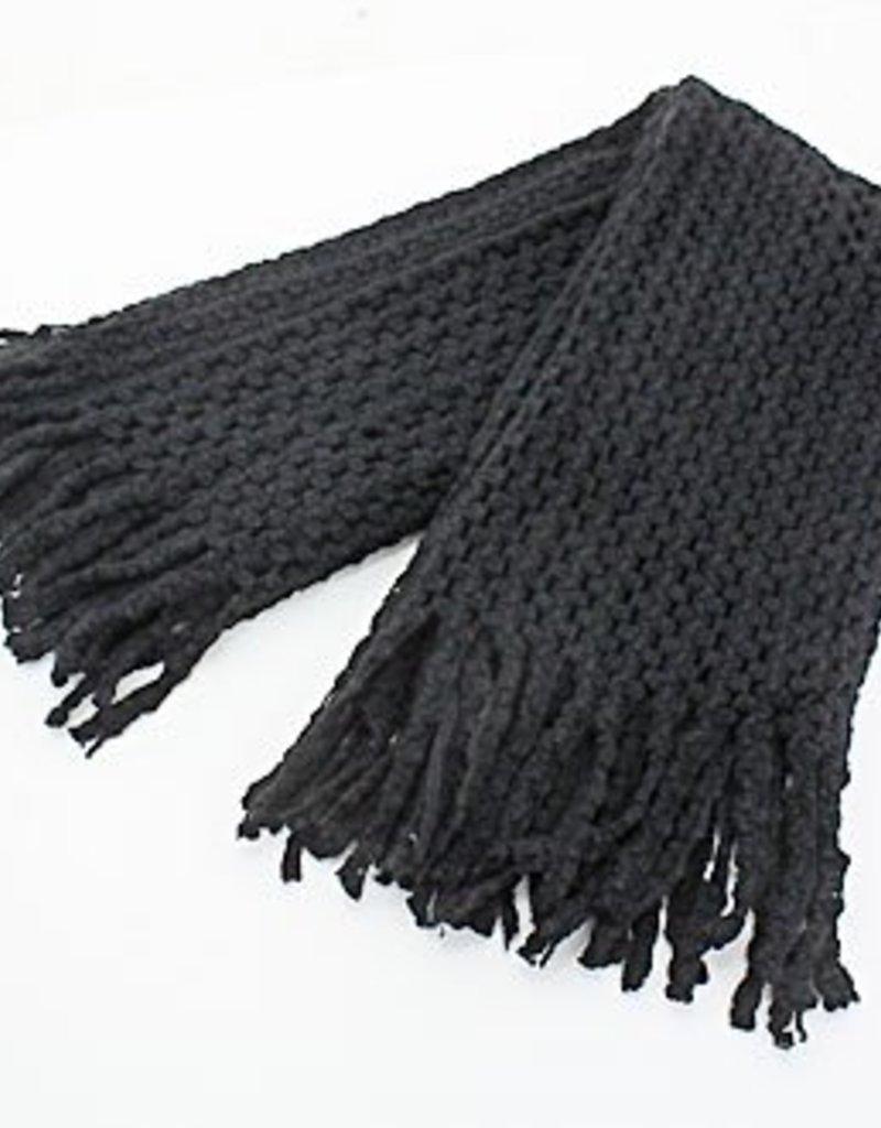 240911 Nicol Scarf Black