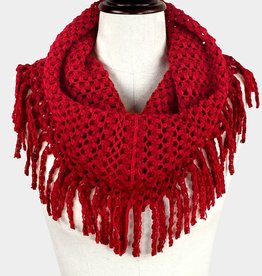 245023 Nicol Scarf Red