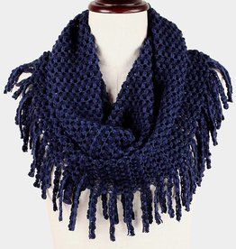 312105 Nicol Scarf Dark Blue