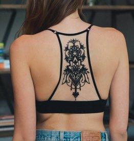 5330 Tatoo Bralette Black
