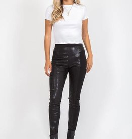 Two Timing Leatherette Pant