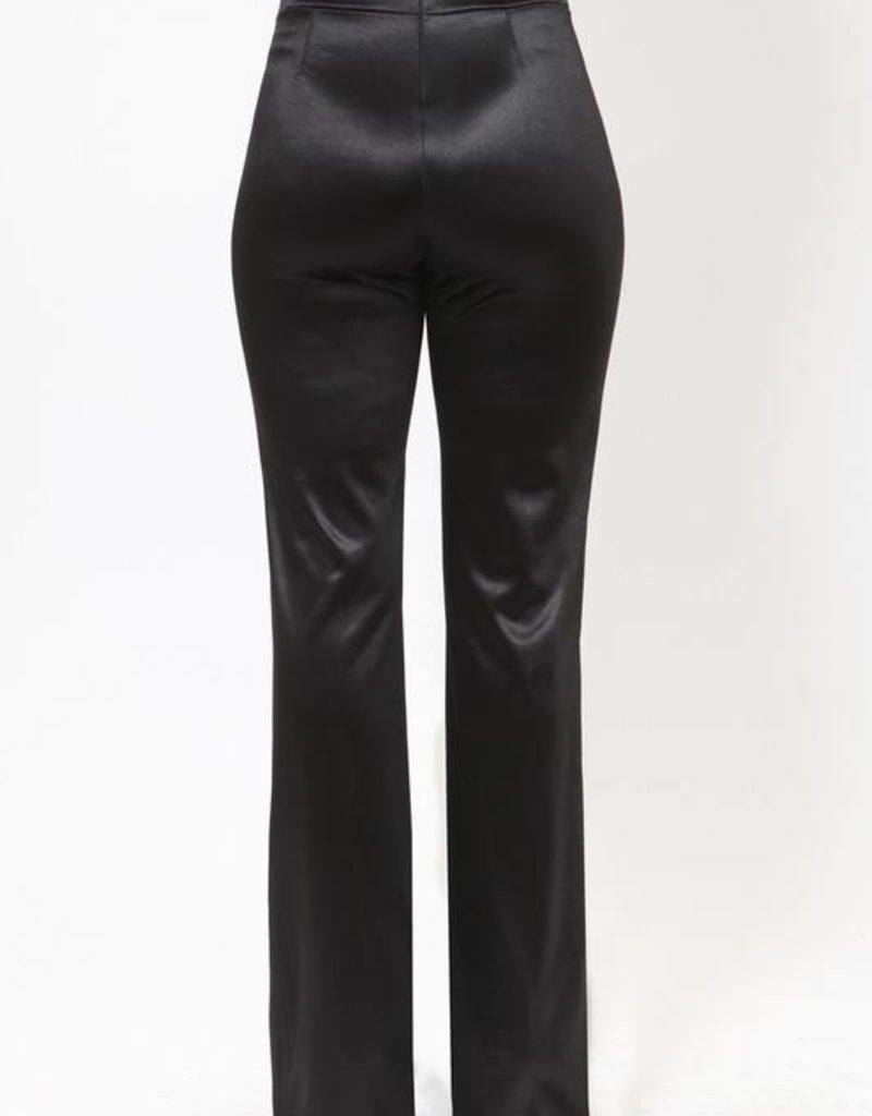 8680 J LO Pants Satin Black