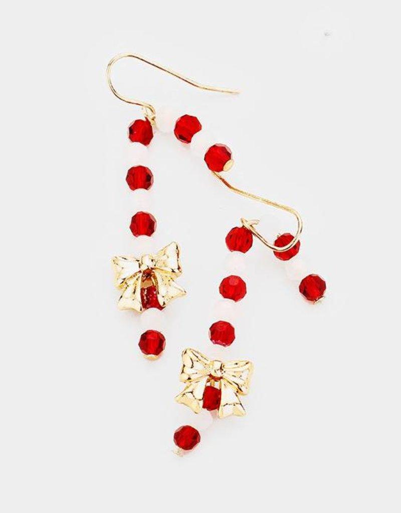 408023 Candy Cane Earrings