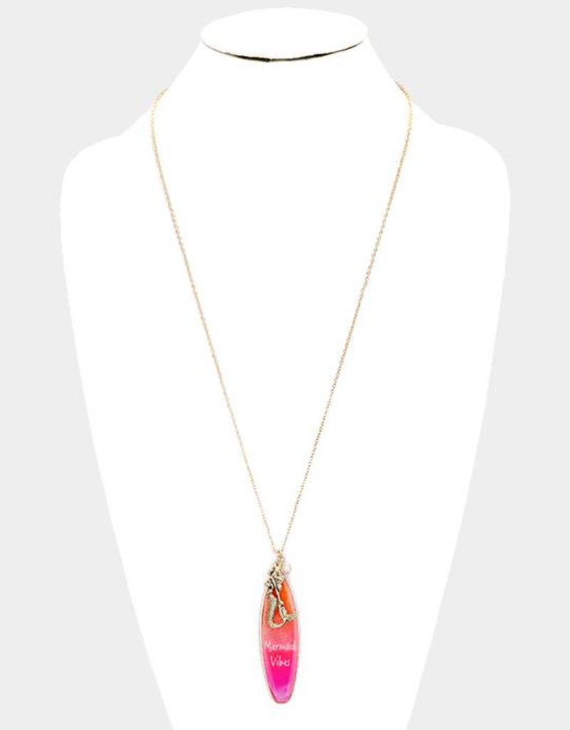 Mermaid Vibes Long Necklace GD