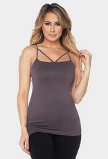 616 Cross My Heart Cami ONE SIZE Plum
