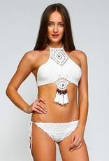 B00004 Dreamcatcher Bikini Set White ONE SIZE