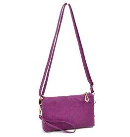 5002 Double Zipper Purple