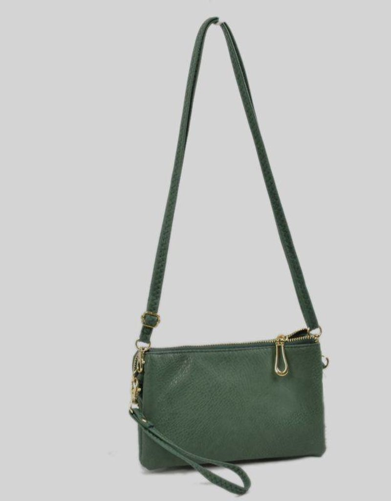 5002 Double Zipper Dark Green