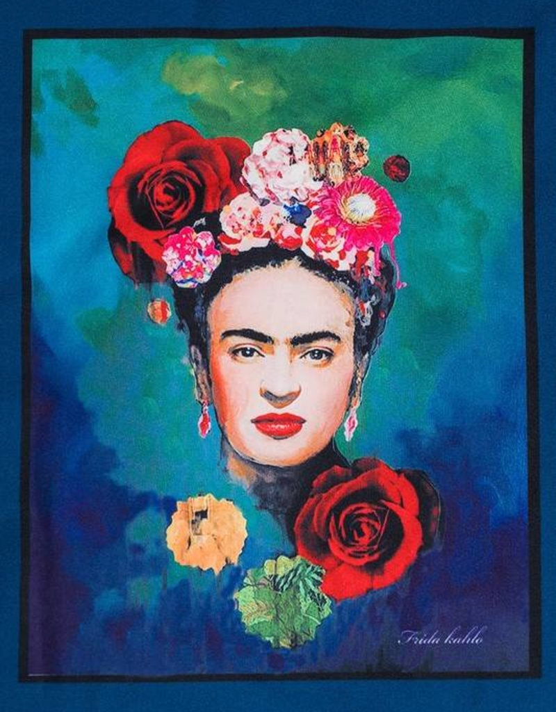 9183 Frida Kahlo Top Navy