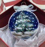 Hand Painted Christmas Ornament Class