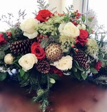 Christmas Centerpiece Arrangement: Saturday, December 22nd 11:30am