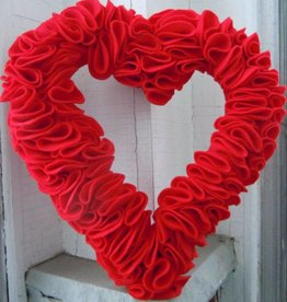 Wreath Making Class: Heart FELT Wreath: Jan 31st, 11:30am