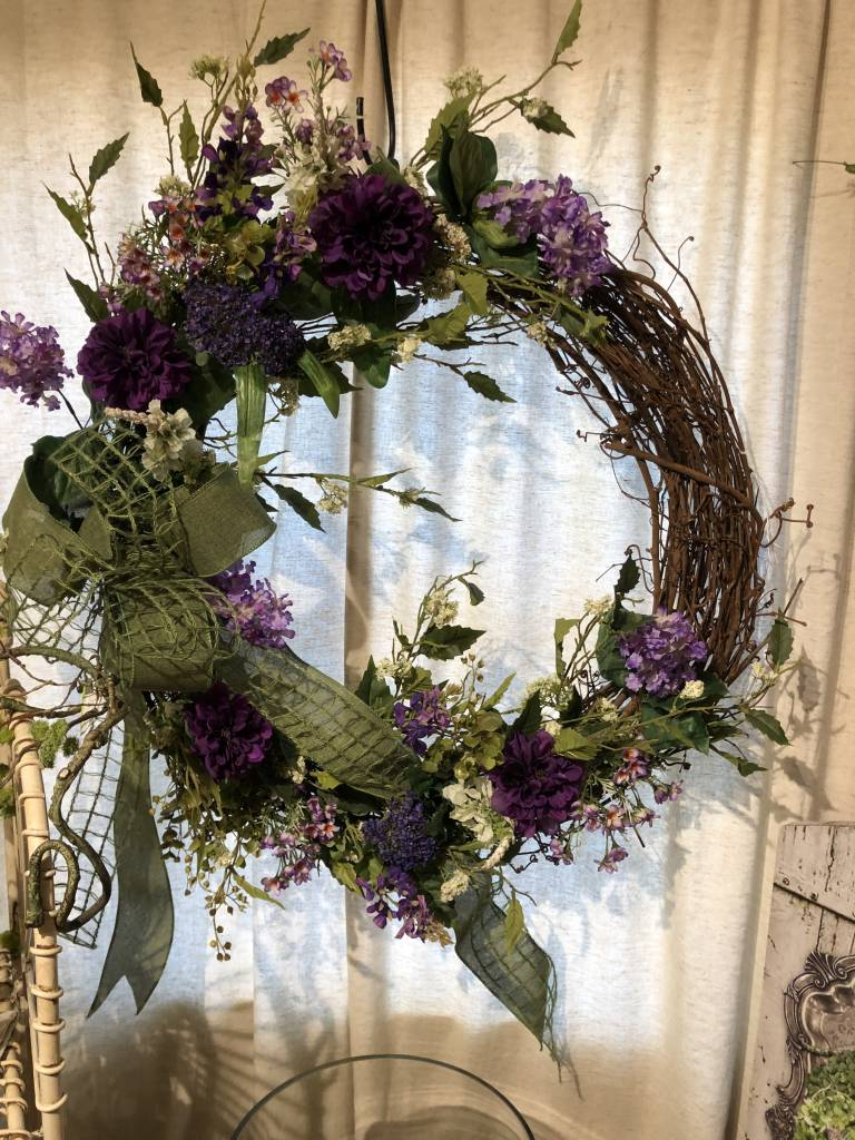 Spring Wreath Workshop: Feb. 28th- 11:30am