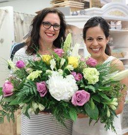 Floral Design: Easter Centerpiece, April 18th 11:30am-1pm