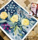 Watercolor Basics with Sarah Bubar: May 25th, 10:30am