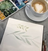 Watercolor Basics with Sarah Bubar, May 25th 10:30 am-12:30pm