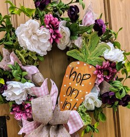 Easter Wreath Class: Thursday, March 28th-11:30am