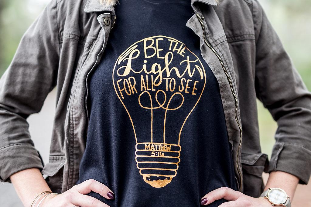 WYG Lightbulb Foil Tee