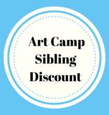 Art Camp Sibling Discount