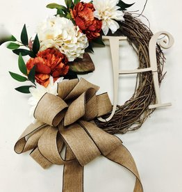 Fall Wreath Workshop: September 12th- 11am-12:30pm