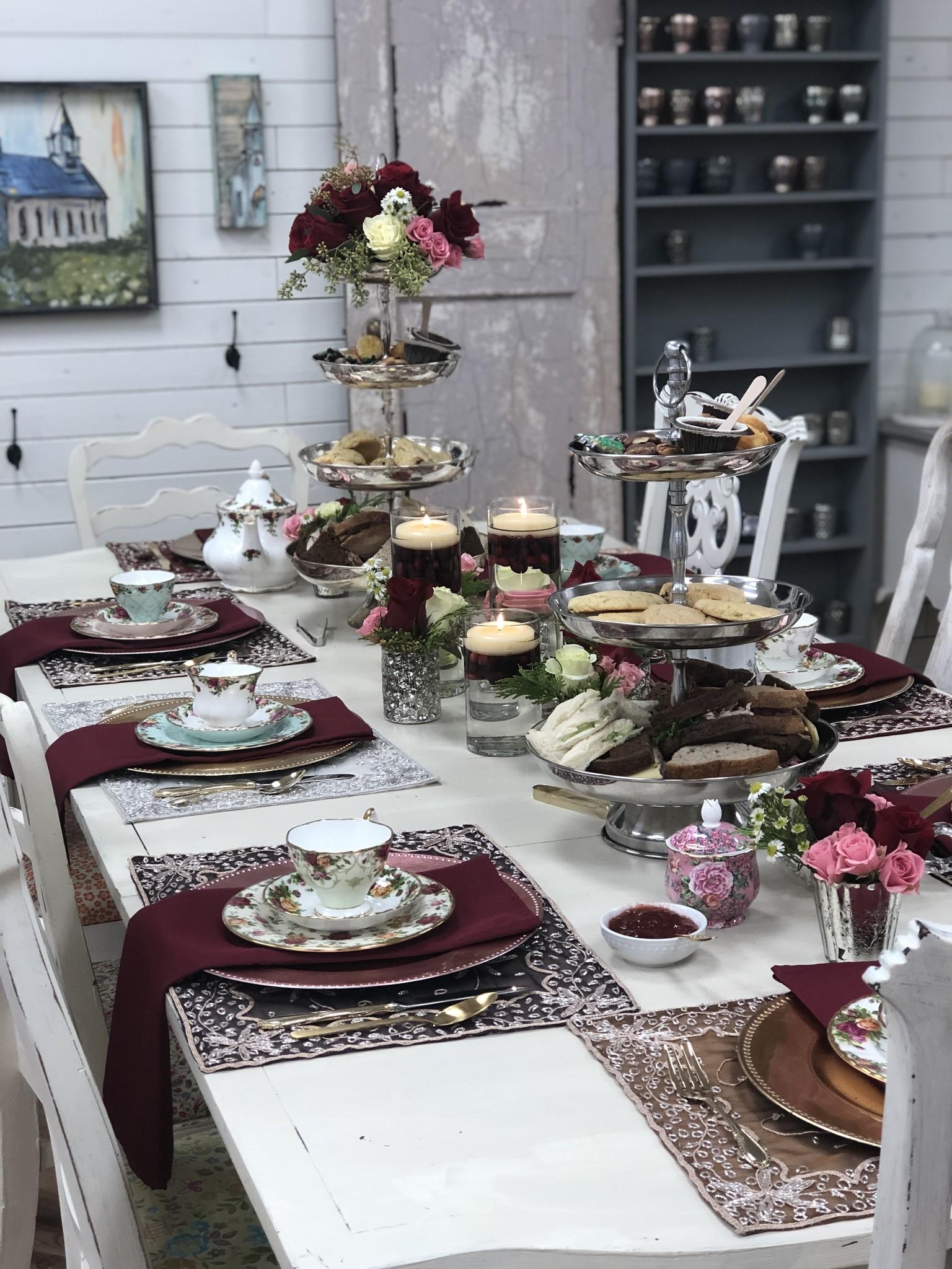 Christmas Tea: Saturday December 14th