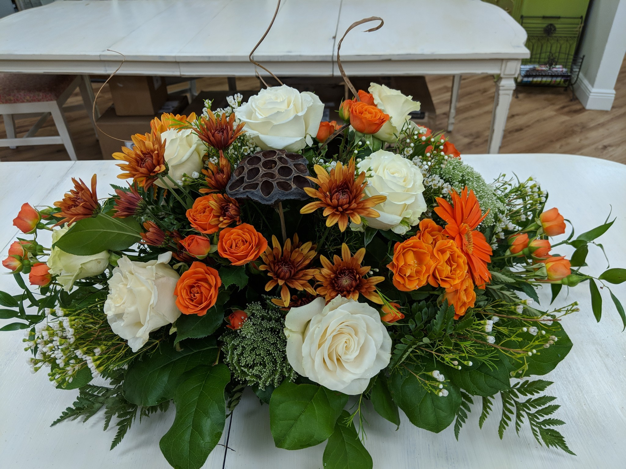 Floral Design: Thanksgiving Centerpiece, Tuesday November 26th 11:30am-1:30pm